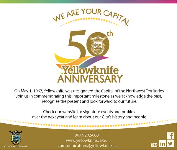 Yellowknife 50 Anniversary