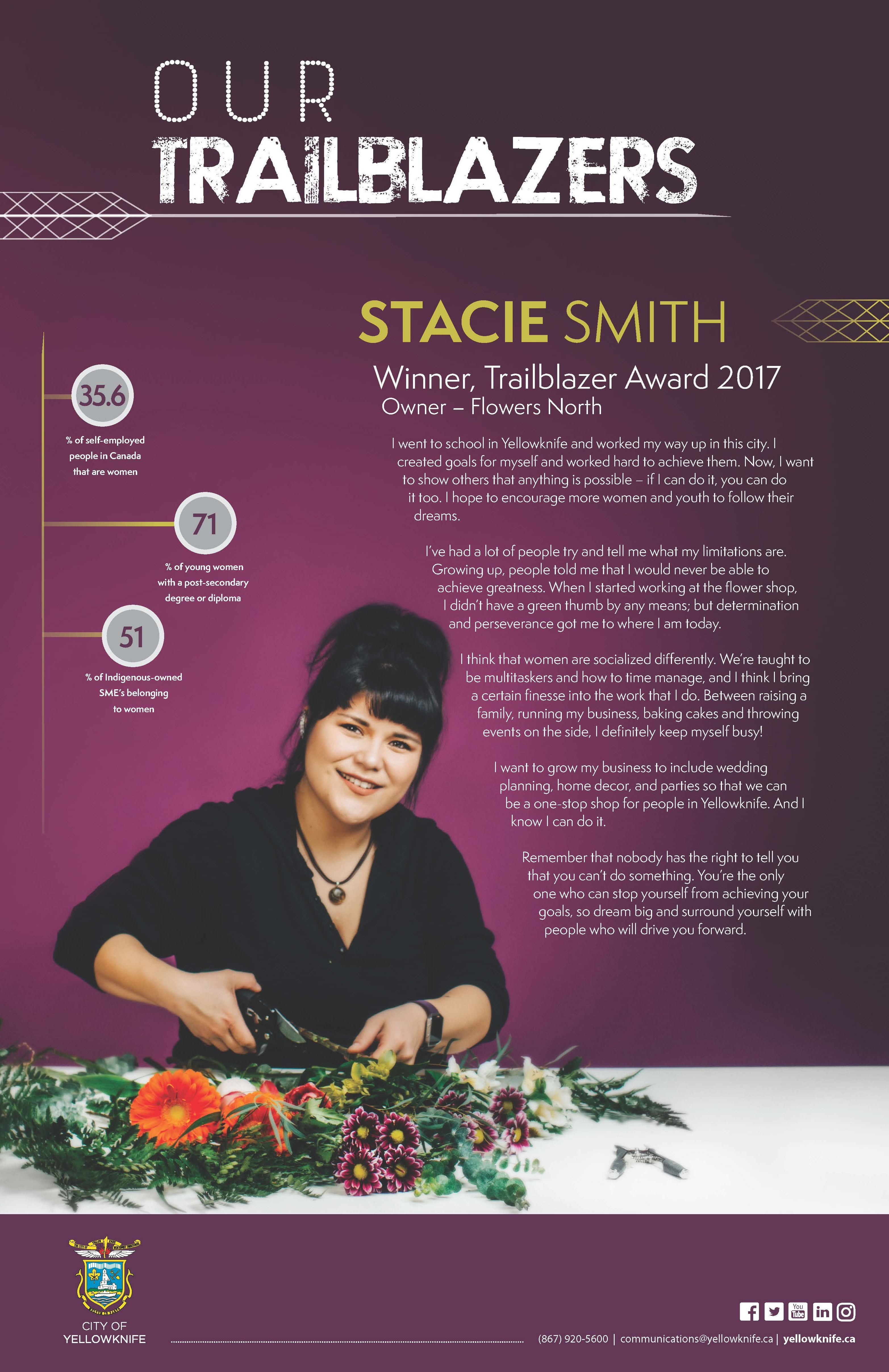 Our Trailblazers - Stacie Smith