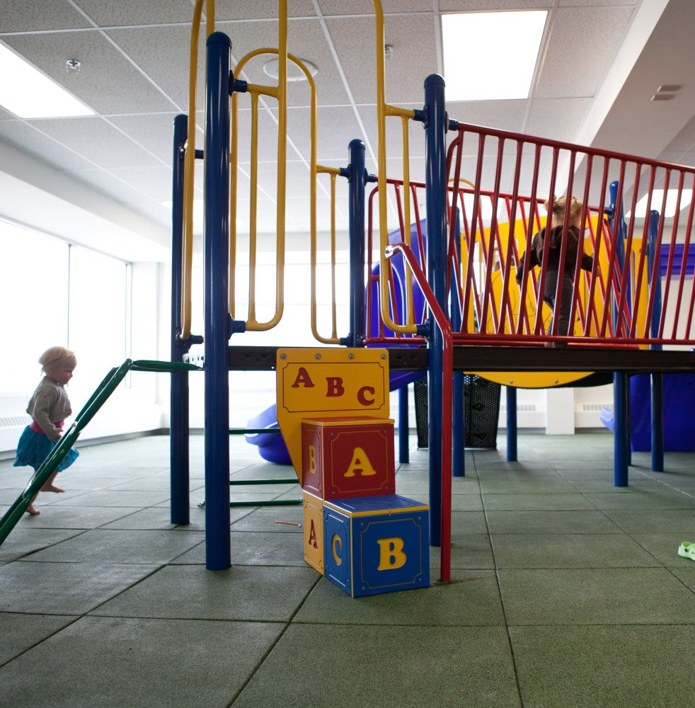 Fieldhouse indoor play area