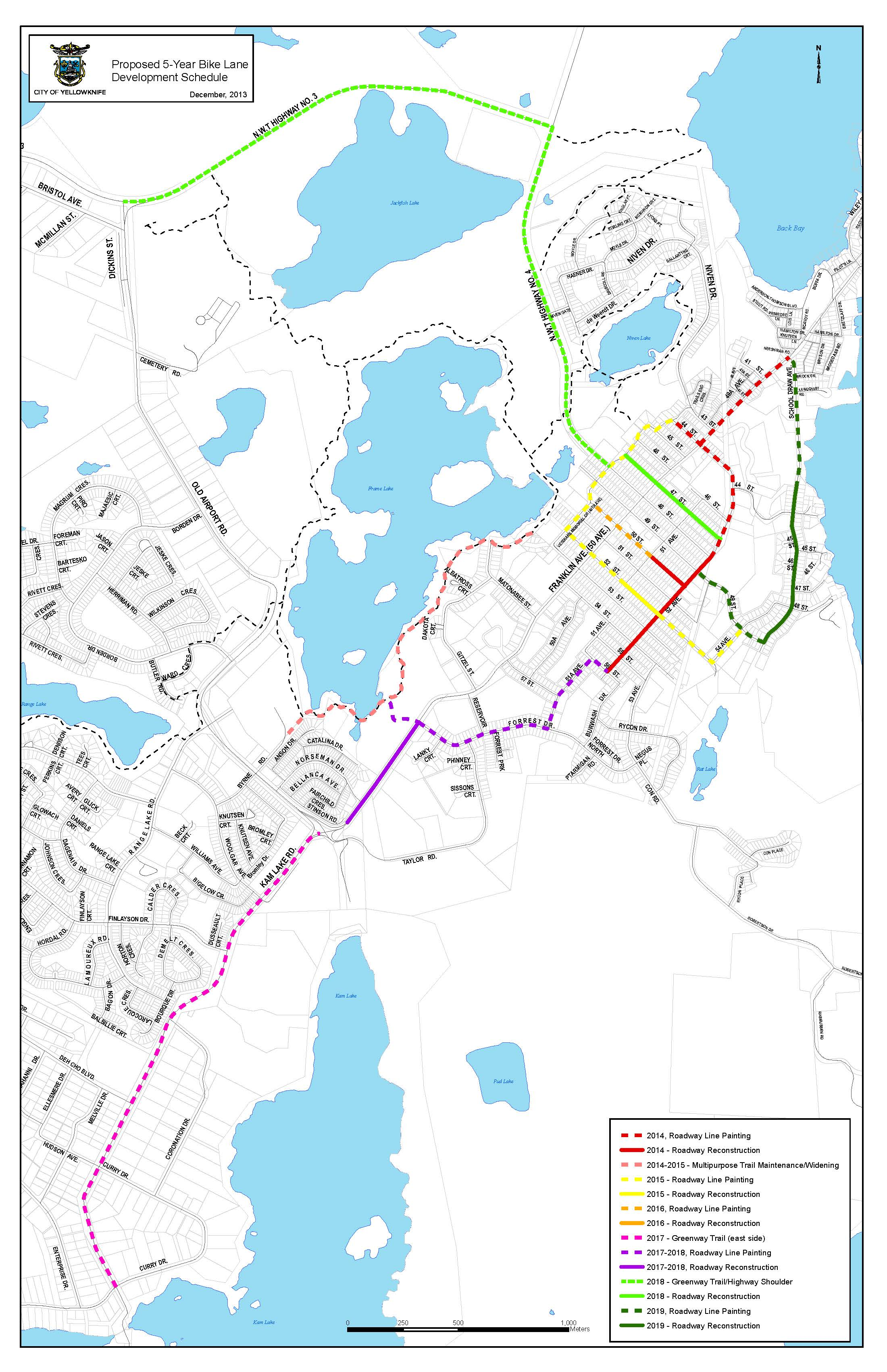 new bike routes