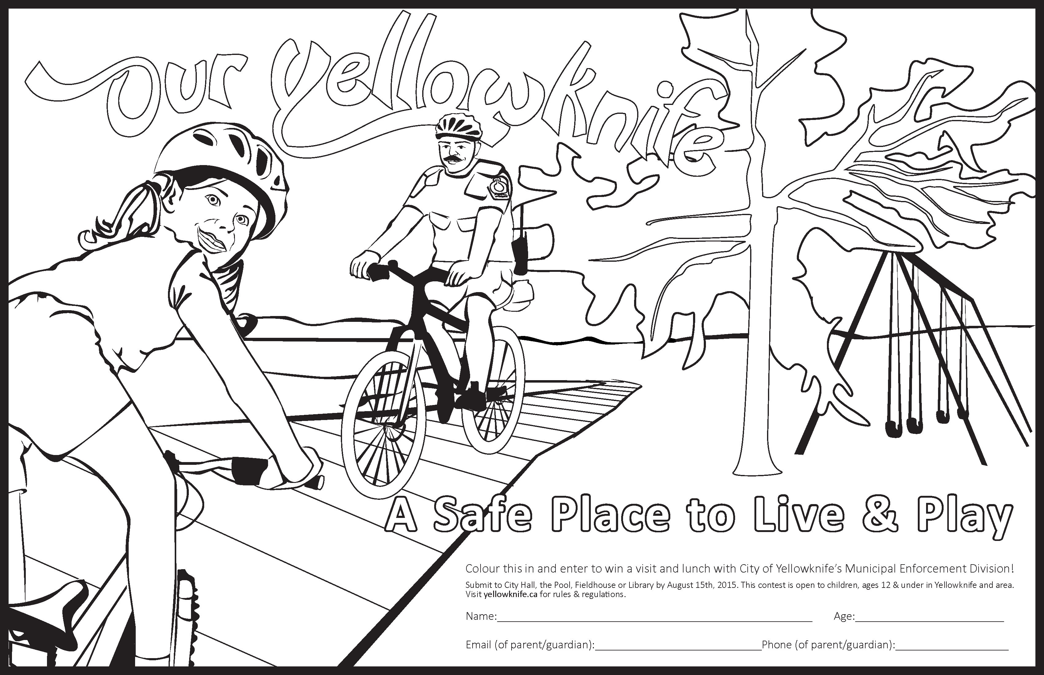 Colouring Contest Page