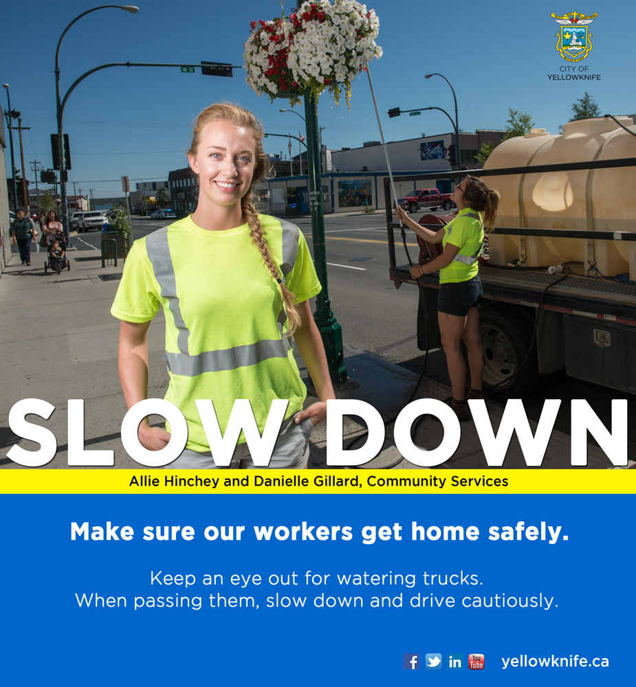 Watering Truck: Slow Down